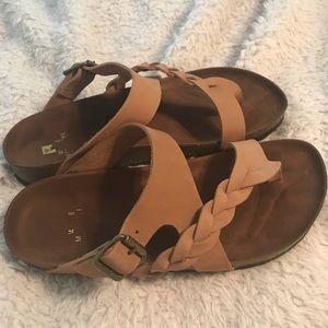 561019dbf8f White Mountain Shoes - White Mountain Hamilton flat sz 8
